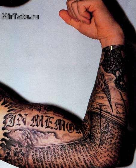 Фото татуировок - Татуировка на руке 6