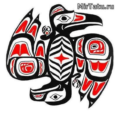 Эскизы татуировок - Индийские татуировки 8