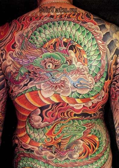Фото татуировок — Татуировки спины 2