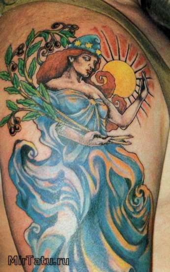 Фото татуировок — Татуировка на руке 7