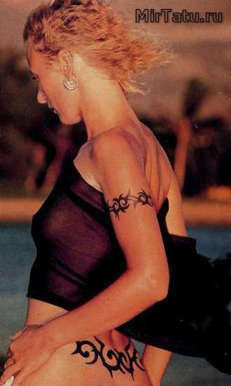Фото татуировок — Татуировки спины 3
