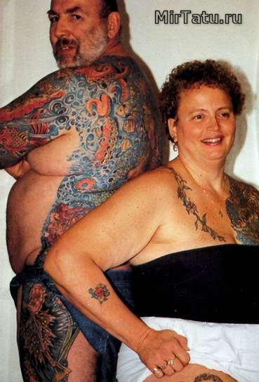 Фото татуировок — Татуировки спины 4