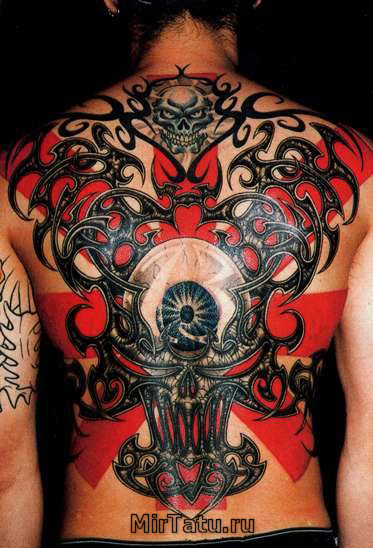 Фото татуировок — Татуировки спины 7
