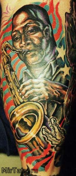 Фото татуировок — Татуировка на руке 12