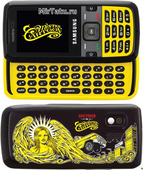 Телефон от известного татуировщика